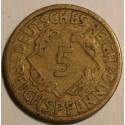 5 reichspfennig 1924 A
