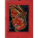 Portret kobiety - akwarela