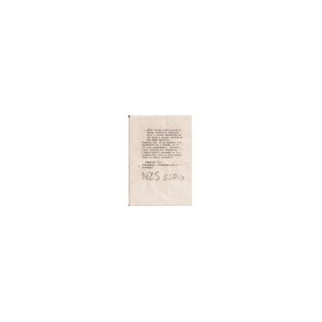 Akt notarialny - Indie, lata 40-te XX wieku