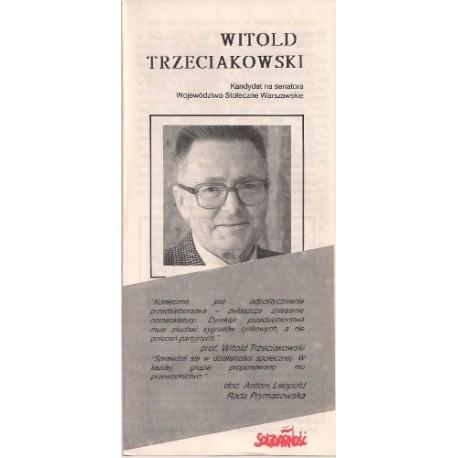 Ulotka Anna Radziwiłł - Wybory 1989