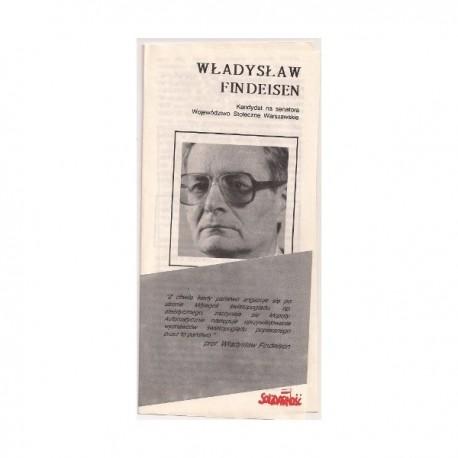 Ulotka Witold Trzeciakowski - Wybory 1989