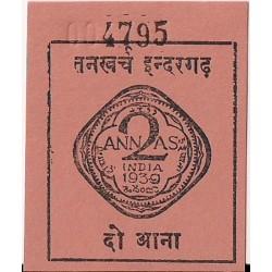Indie 1 anna 1933