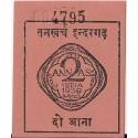 Indie 2 annas 1939