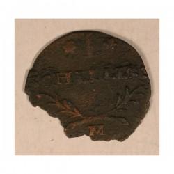 szeląg Jana Kazimierza - fals z epoki