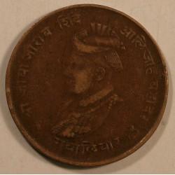 Gwalior, Jivaji Rao 1/4 anna 1929