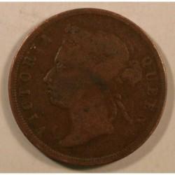 Nowa Funlandia 1 cent 1917