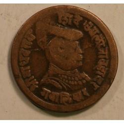 Gwalior, Madho Rao 1/4 anna 1900 AD