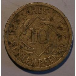 10 rentenpfennig 1924 A. Brązal, mennica Berlin.