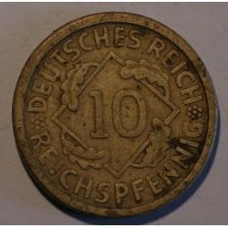 10 rentenpfennig 1926 A. Brązal, mennica Berlin.