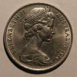 Australia 20 cent 1976. Nikiel.