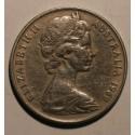 Australia 20 cent 1969