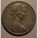 Australia 20 cent 1968