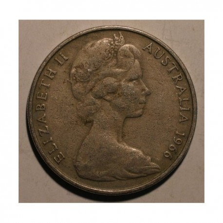 Australia 20 cent 1966