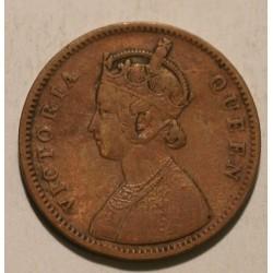 Indie brytyjskie One Quarter Anna 1862