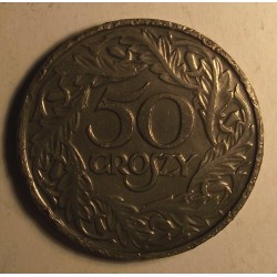 50 groszy 1923. Nikiel