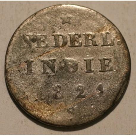 Republika Batawii 1/2 stuivera 1821 S