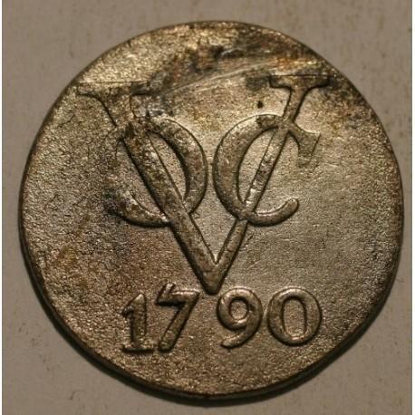 Indie holenderskie 1 duit 1790