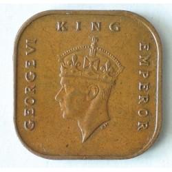 Malaje 1 cent 1943