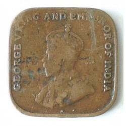 Straits Settlements 1 cent 1920