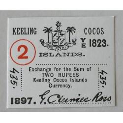 Wyspy Kokosowe 2 rupie 1897