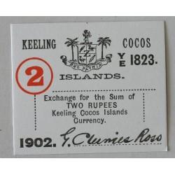 Wyspy Kokosowe 2 rupie 1902