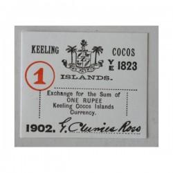 Wyspy Kokosowe 1 rupia 1902