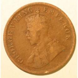 Indie brytyjskie One Quarter Anna 1913