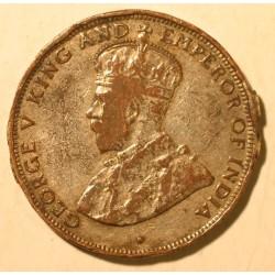 Hong Kong pod panowaniem brytyjskim 1 cent 1933