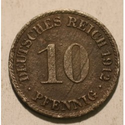 10 pfennig 1912