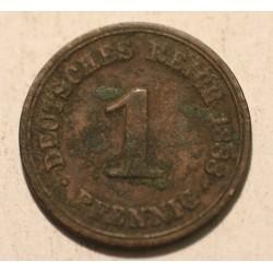 1 pfennig 1888 A