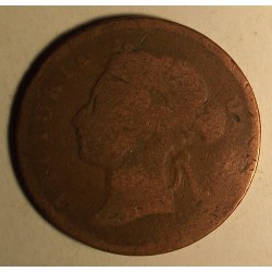 Straits Settlements 1 cent 1872-1886