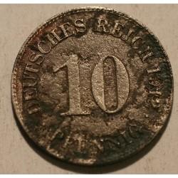 10 pfennig 1912 E
