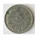 Luksemburg 5 centimes 1901