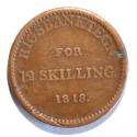 Dania 12 skilling 1813
