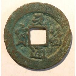 1 cash Yuan Fu Tong Bao (1098-1100). Panujący Zhe Zong