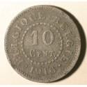 Belgia 10 cent 1916