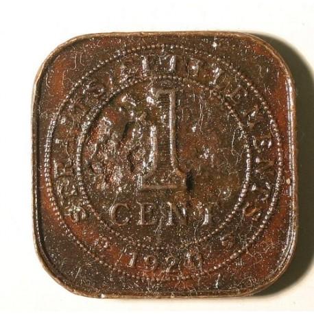Straits Settlements 1 cent 1920
