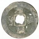 1 kesz Yuan You Tong Bao (1086-1096)