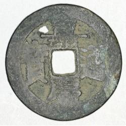 1 kesz Ja Quing Tong Bao (1796-1820)
