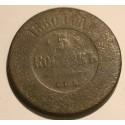 5 kopiejek 1880 SPB