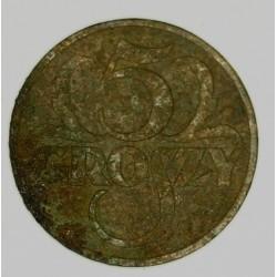 5 groszy 1937. Brąz