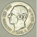 Hiszpania 2 pesety 1882
