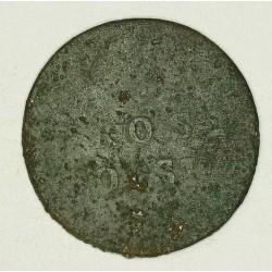 1 grosz polski KG, odmiana bita w latach 1830-1834