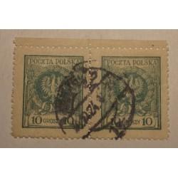 1924 Orzeł w wieńcu 20gr parka pozioma