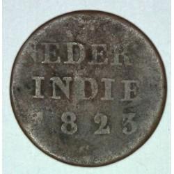 Indie holenderskie 1/4 stuiver 1823