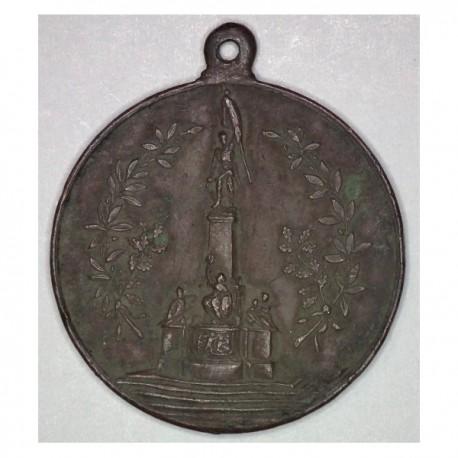 Medal z okazji odsłonięcia pomnika w Wiedniu 1906