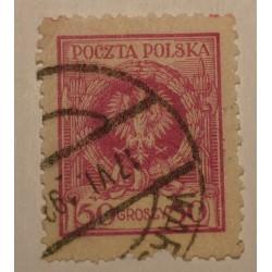 1924 Orzeł w wieńcu 50gr