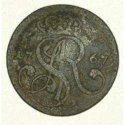 1 grosz koronny 1767 G
