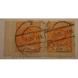 1924 Orzeł w wieńcu 3gr parka pozioma