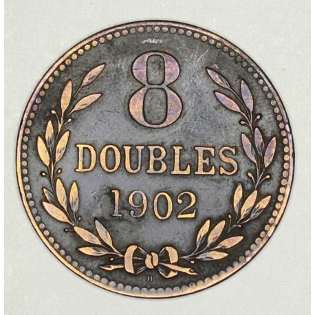 Guernsey 8 doubles 1902 H